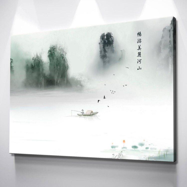 Картина Одинокий Рыбак