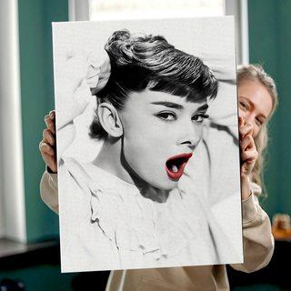 Картина ОдриХепберн