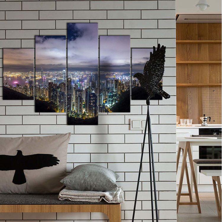 Модульная картина Огни Ночного Города