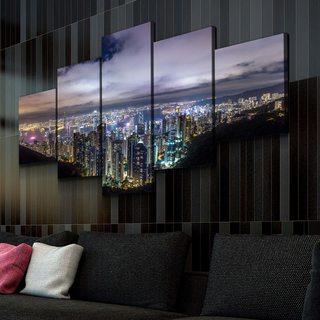 Картина Огни Ночного Города