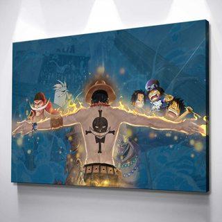 Картина One Piece - Арка Маринфорда