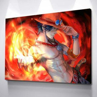 Картина One Piece - Портгас