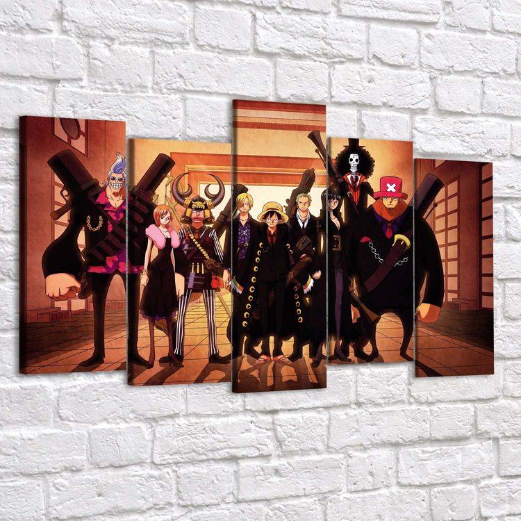 Картина One Piece - Пираты Мугивары