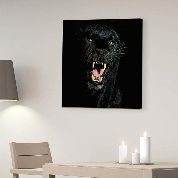 Картина Оскал Пантеры - p53827