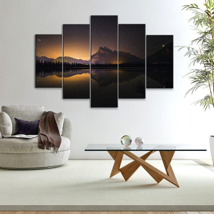 Картина Озерное Зарево