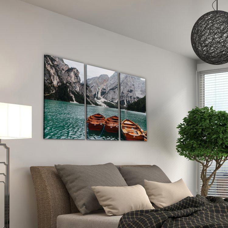 Модульная картина Озеро Браес
