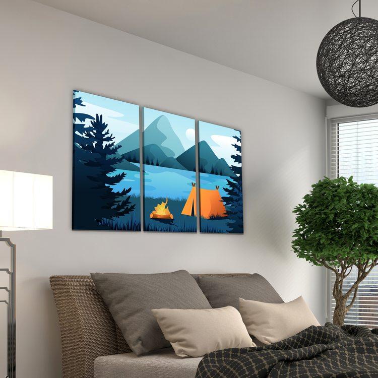 Картина Палатка Путешественника