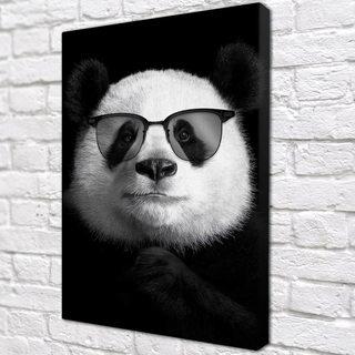 Картина Панда в очках