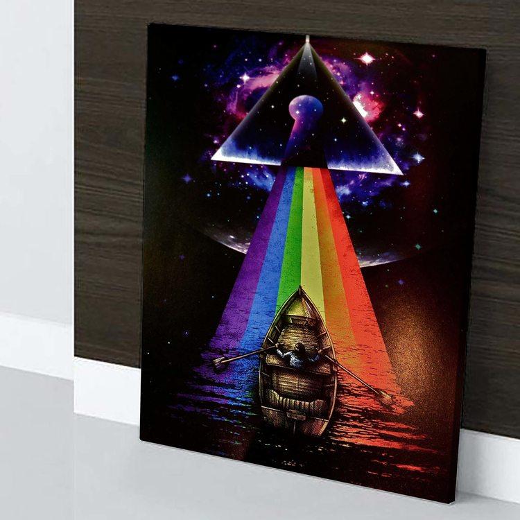 Картина Pink Floyd - Лодка