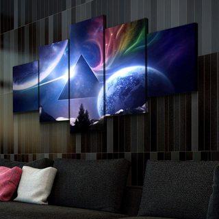 Картина Космический Pink Floyd