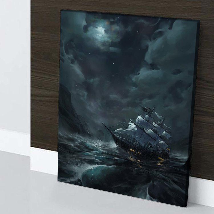 Картина Пиратская Ночь