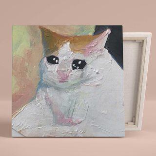Картина Плачущий Кот - p53830