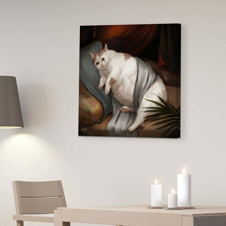 Картина Плачущий Кот - p53832