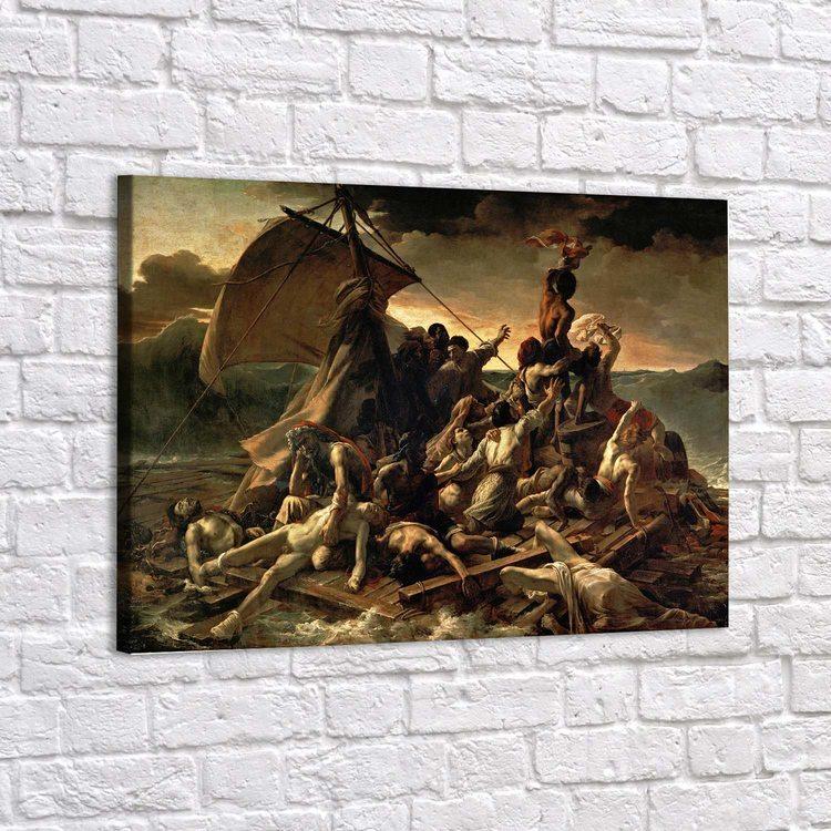 Картина Теодор Жерико - Плот Медузы