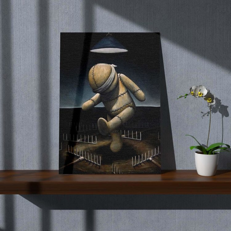 Картина Плюшевая Кукла - p53698