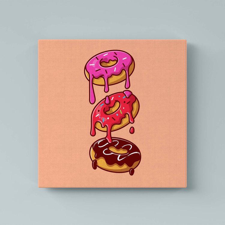 Картина Пончики - p53601