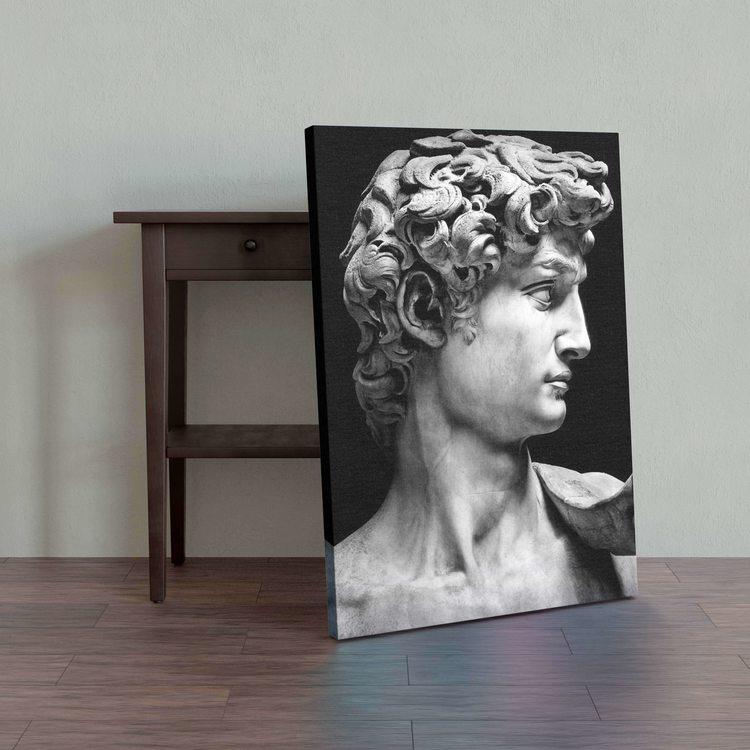 Картина Профиль Давида - p53772