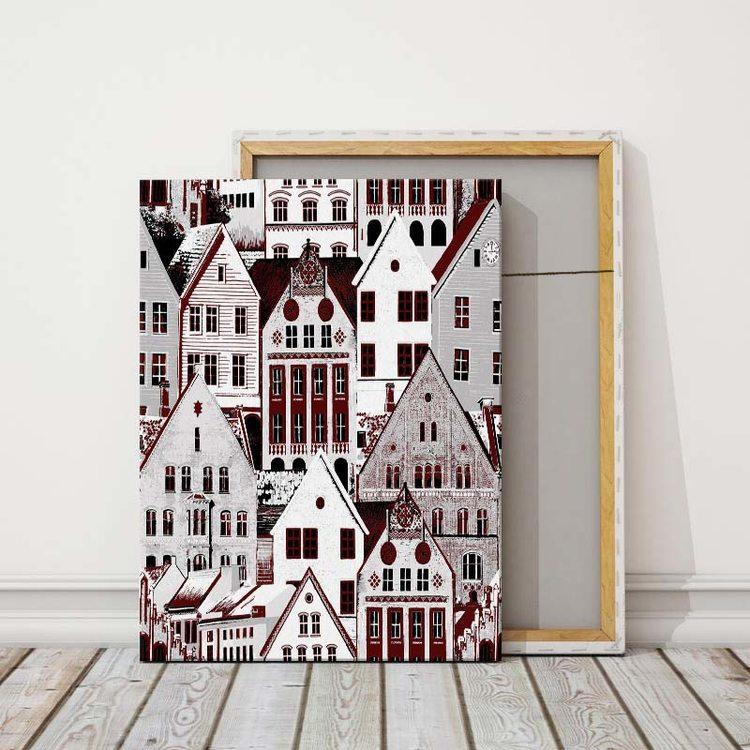 Картина Просто Город