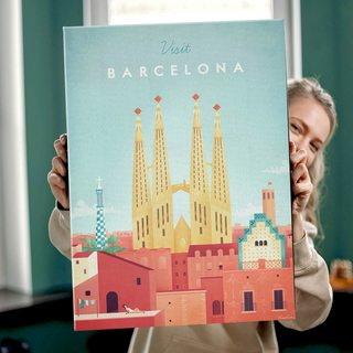 КартинаПутешествуй Барселона