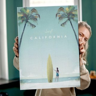 Картина ПутешествуйКалифорния