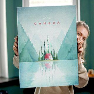 КартинаПутешествуй Канада