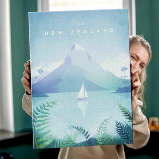 Картина Путешествуй Новая Зеландия