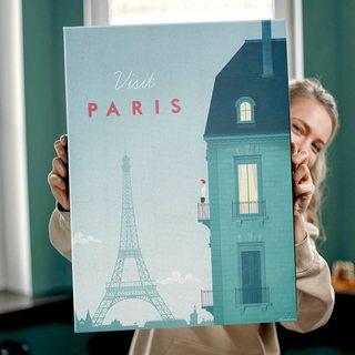 КартинаПутешествуй Париж