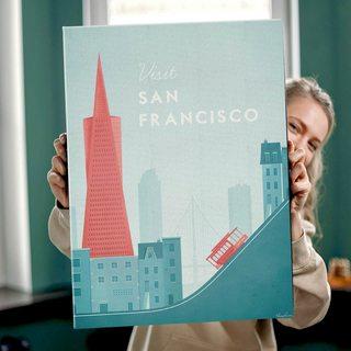 Картина ПутешествуйСан-Франциско