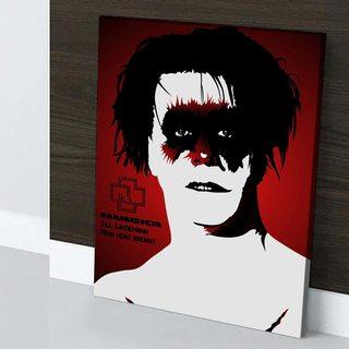 Картина Rammstein - Till Lindemann