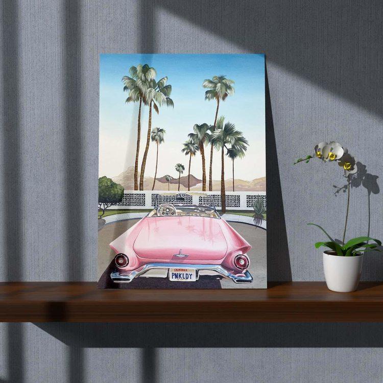 Картина Ретро Калифорния - p53694