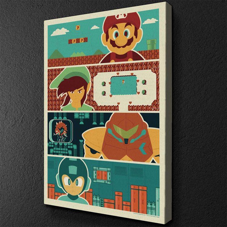 Картина Ретро Видеоигры
