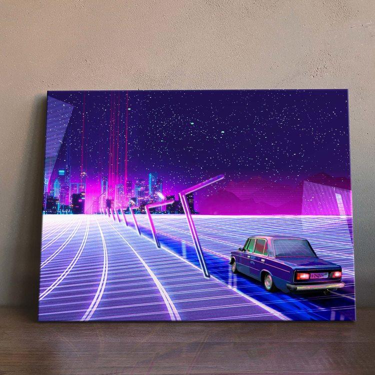 Картина Ретровейв - Neongrad
