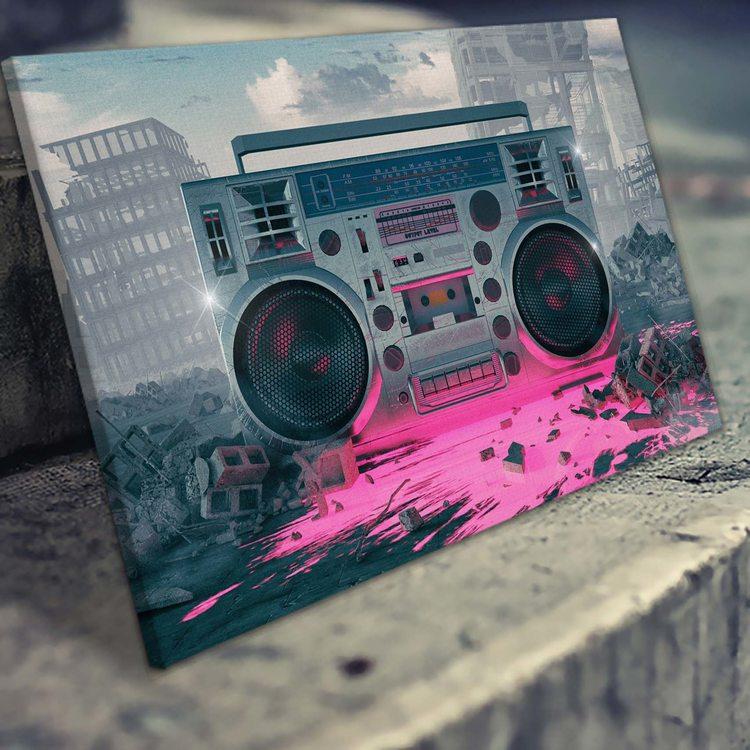 Картина Ретровейв - Music