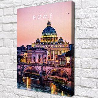 Картина Рим Италия