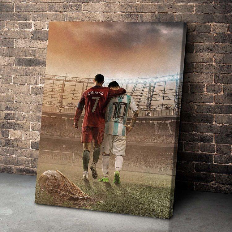 Картина Роналду И Месси