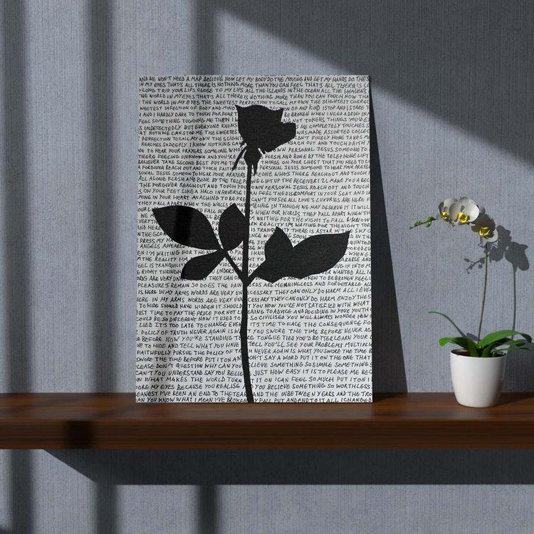 Картина Роза Depeche Mode - p53652