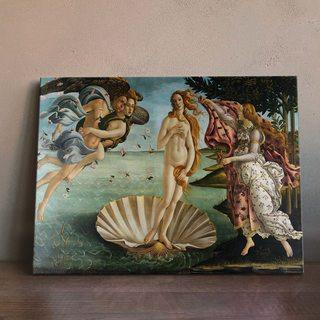 Картина Сандро Боттичелли - Рождение Венеры