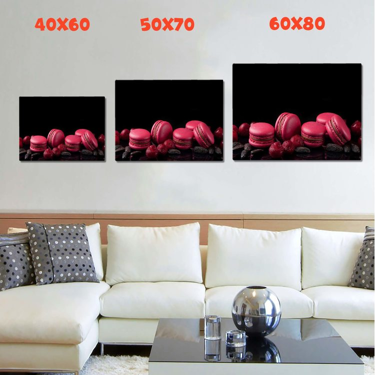 Картина Розовые Макаруны