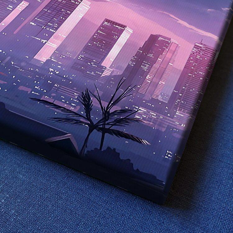 Картина Розовый Закат