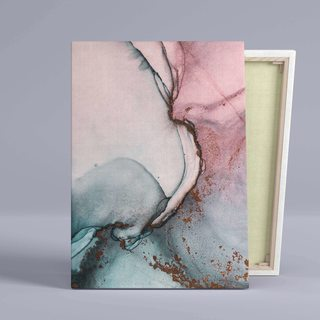 Картина Розово-Голубой Мрамор - p53834
