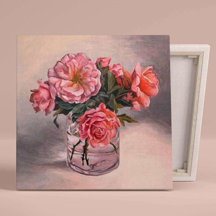 Картина Розовые Пионы - p53737