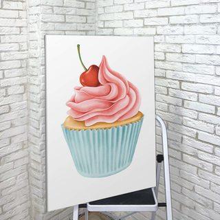 Картина Розовый Кексик - p53556