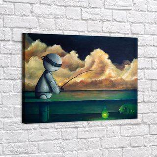 Картина Рыбалка - p53718