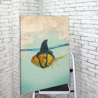 Картина Рыбка Под Маскировкой