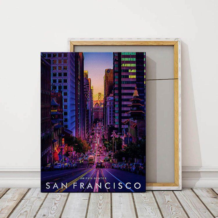Картина Сан-Франциско США