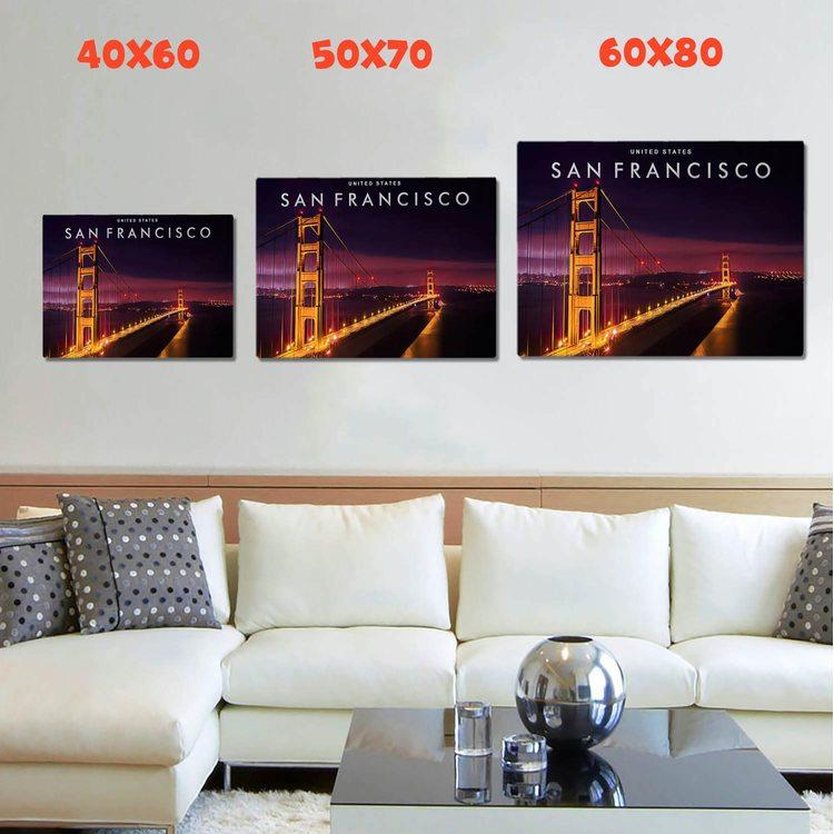 КартинаСан-ФранцискоЗолотые Ворота