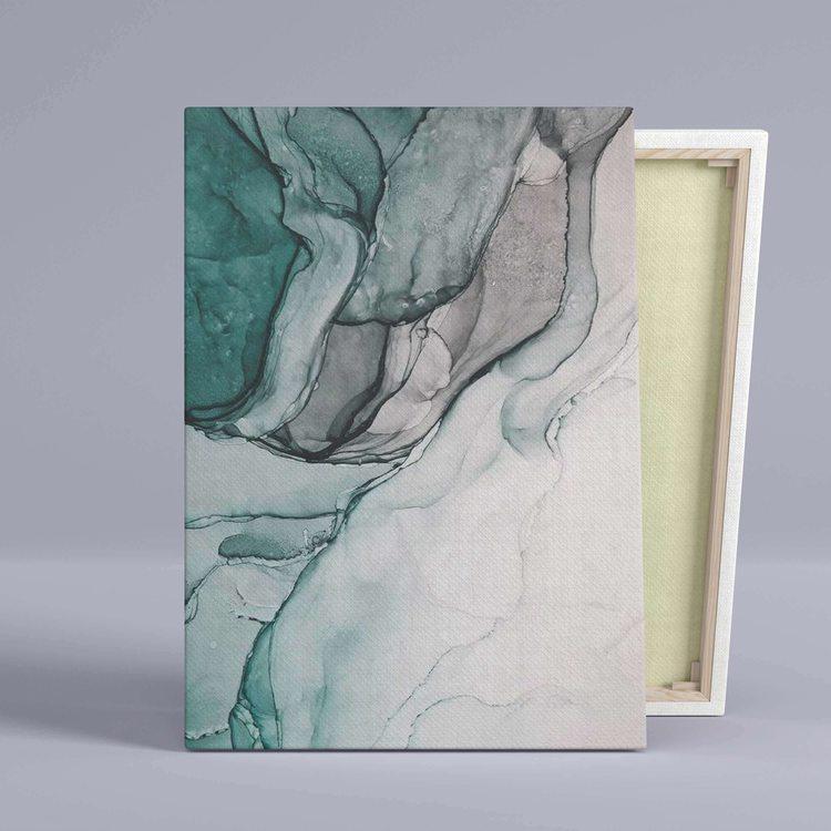 Картина Серо-Зеленый Мрамор - p53836