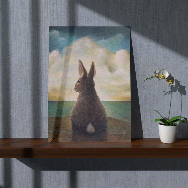 Картина Серый Зайчик - p53705
