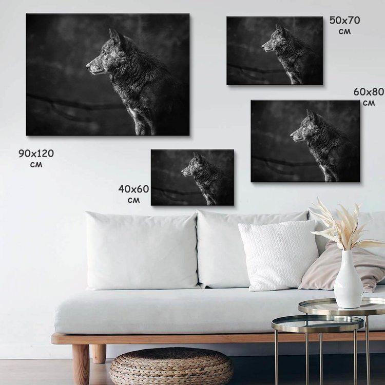 Картина Серьёзный Собакен - p53792