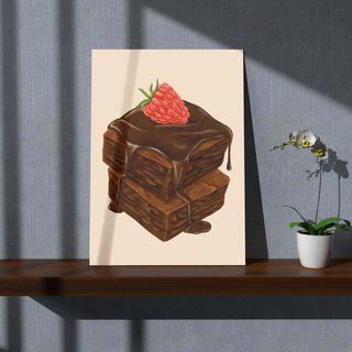 Картина Шоколадный Тортик - p53554